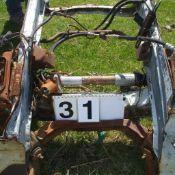 2 Front axles Mustang