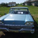 1959 Mercury Meteor car, 2 door, running, sn564FK59566655