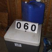 Electric cooler, water jug