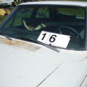 1967 Dodge Coronet 440,V8,383 motor, white, started last fall