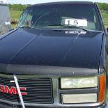 GMC 1500, black, Good motor, sn: 1GTDC14K217586801
