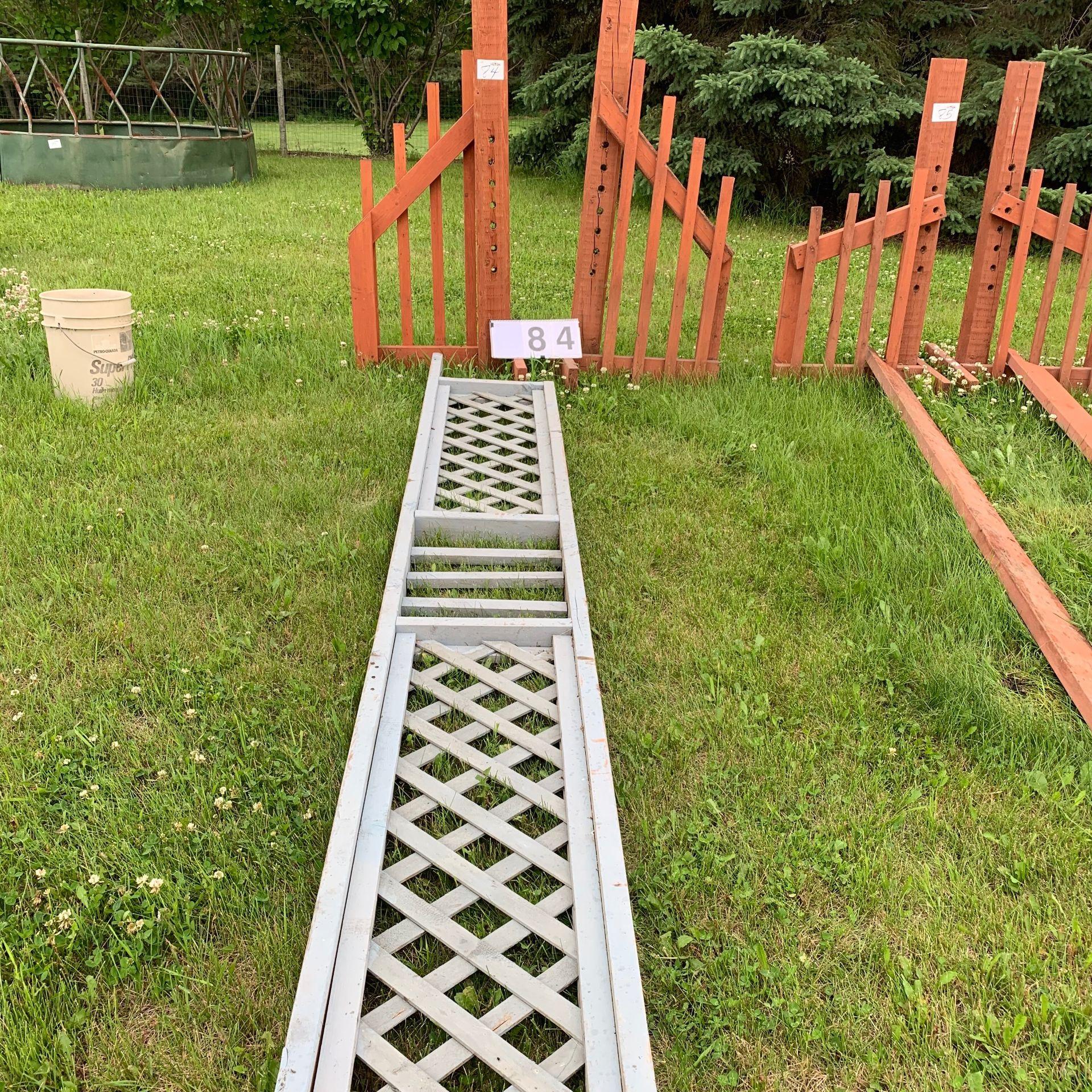 Jumping Standards Rails