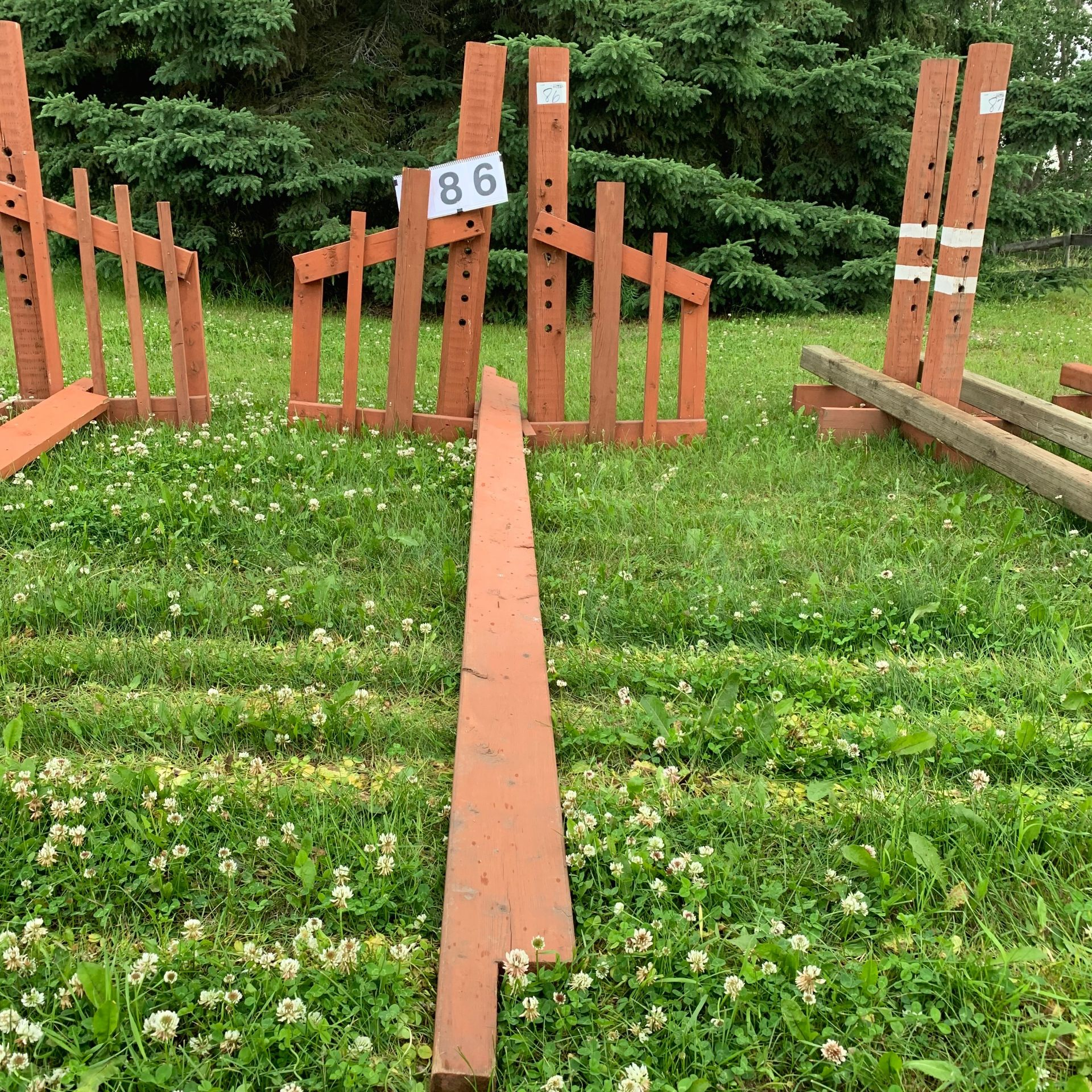 Jumping Standards Rails - Image 2 of 2