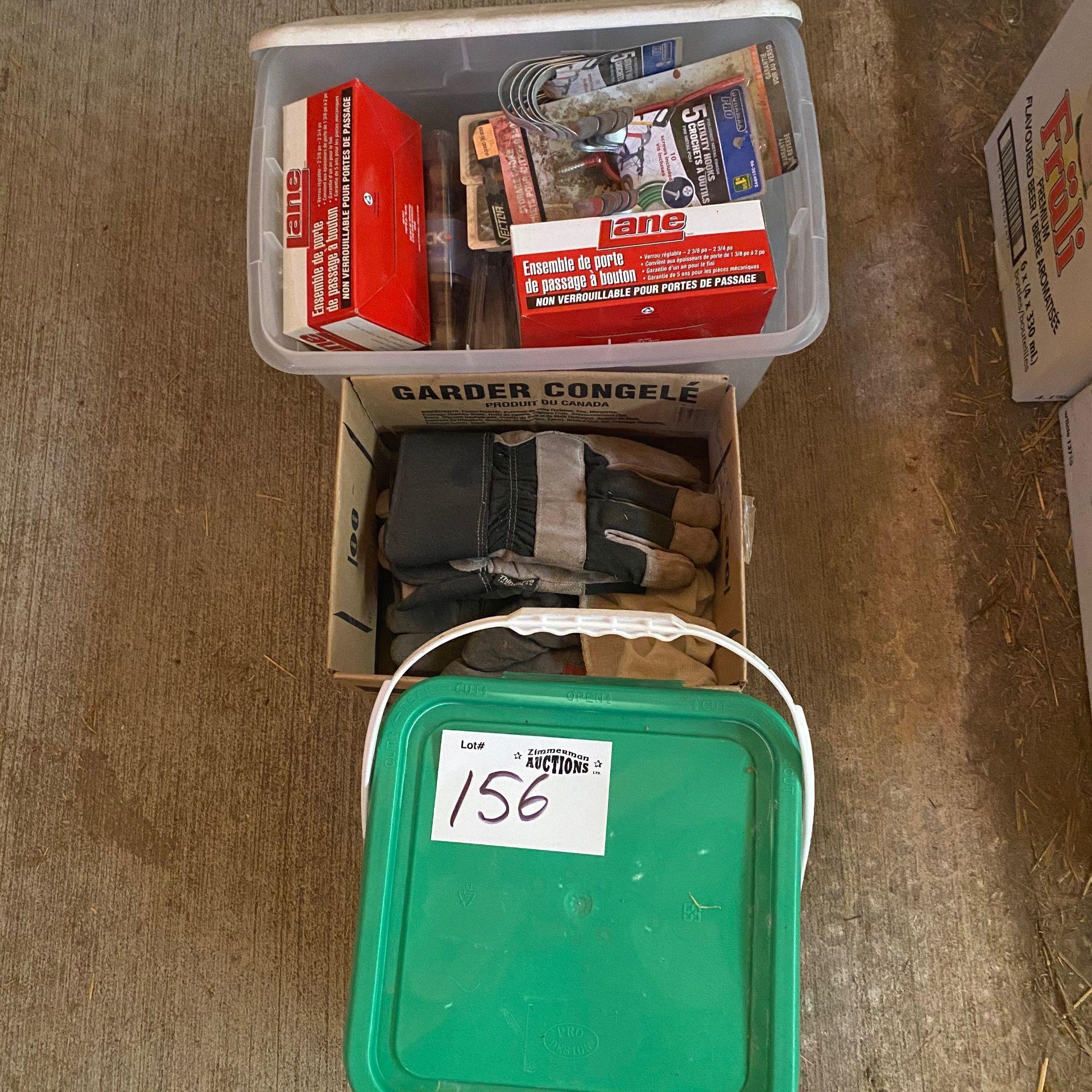 Lot 156 - Misc Door Hardware, ETC