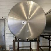 Stainless Steel Bulk Tank with Stand, 350 Gallons