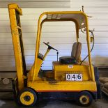 Hyster Fork Lift, Model UC-30, Propane, Solid Tires, 4000 lb Lift Capacity, Unknown Hrs, SN: