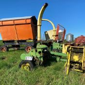 2 John Deere Silage Cutters (1 For Parts)