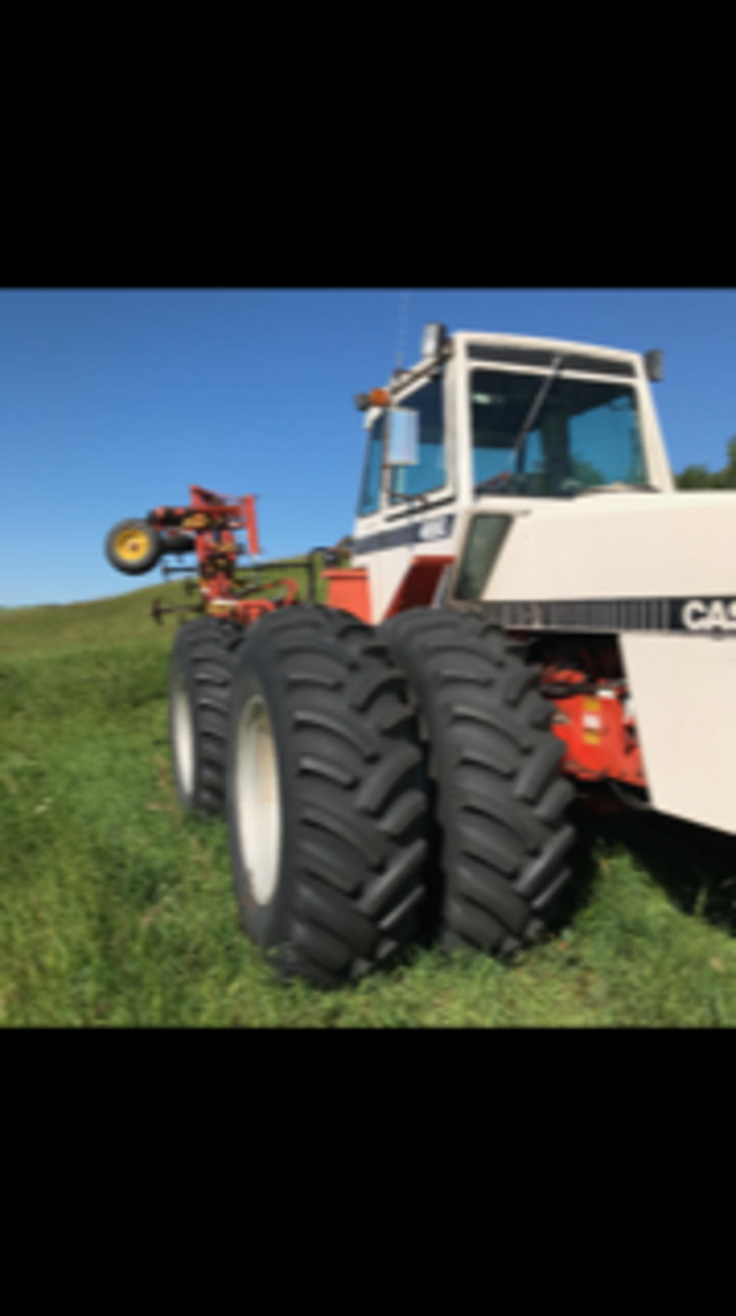 1984 Case Tractor 4690, 4wd, 5683 hrs showing sn: 10259565 - Image 3 of 4