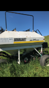 Bourgault 9200 Air Seeder, 28 ft. with 33 ft White field cult. With wwalking axle & harrows,
