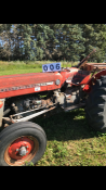 MF 135 Tractor. 3pth. 3857 hrs showing, sn: 9A-51671