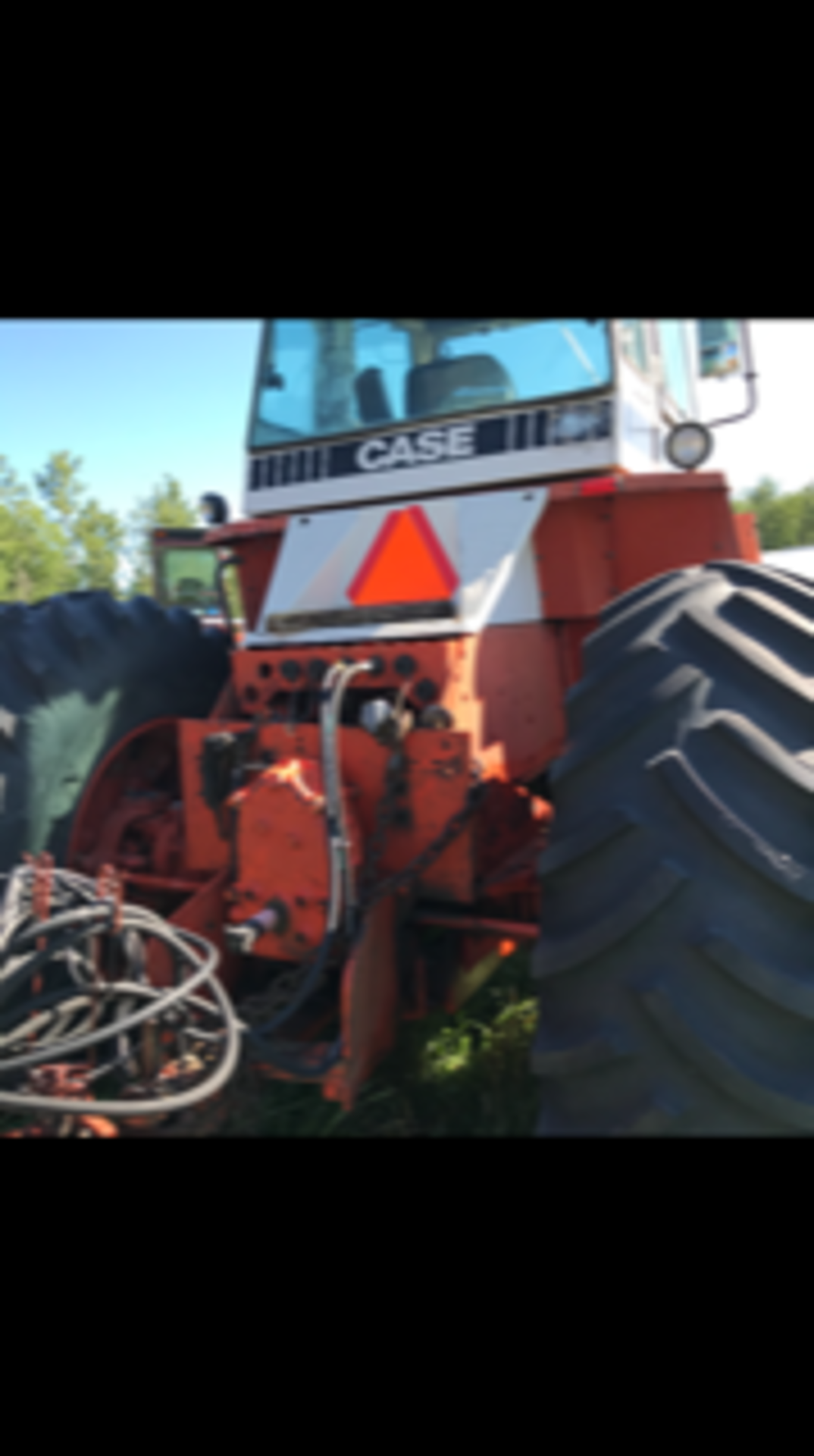 1984 Case Tractor 4690, 4wd, 5683 hrs showing sn: 10259565 - Image 4 of 4
