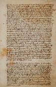Alchemie - Sammlungvon alchemistischen Rezepturen. Deutsche Handschrift auf Papier. Nicht dat.