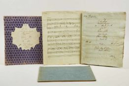 """Klaviermusik - Herz -""""Variations caracteristiques sur une Marche favorite pour le Piano-forte"""