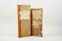 """""""Küchenbuch"""".(Deckeltitel). Deutsche Handschrift auf Papier. Wohl Österreich, dat. 1825-31. Schm.-"""