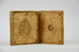 """""""Punctum minimum et maximum geometrica dei et utriusque mundi imago"""".Lateinische Handschrift auf"""
