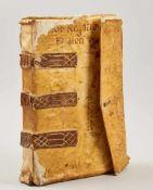 Stabia - Geschäftsbuch -Italienische Handschrift auf Papier. Wohl Castellamare di Stabia, dat.