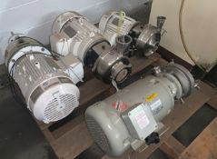 Lot with Various Pumps and Motors