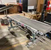 "Hytrol Belt Conveyor, 18""W x 6'L"