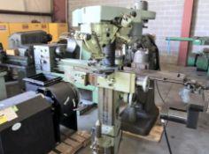 Technica Mdl. ZSM-150 Center Hole Grinding Machine