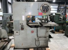 DoAll Mdl. 3612-H Vertical Band Saw