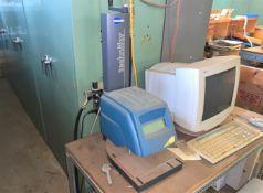 2002 - Technifor Inc. Dot Peen Marking Machine