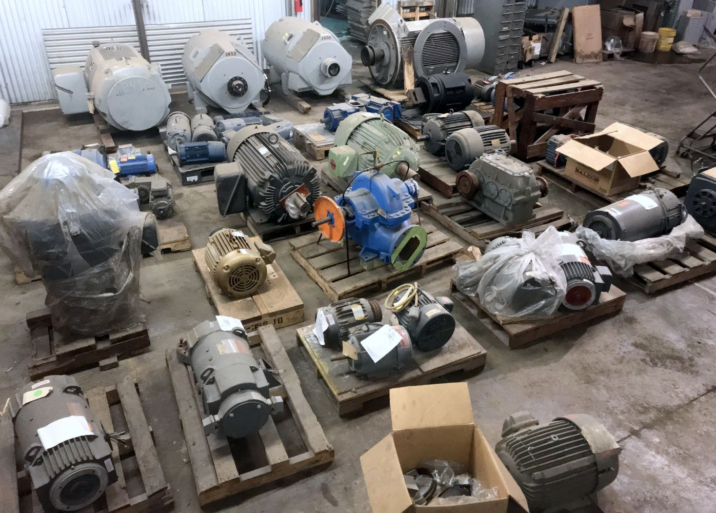 Surplus Electrical and Facility Support Auction