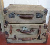 3 vintage suitcases (3)