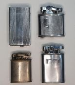 4 vintage metal lighters including 2 Ronson examples (4)