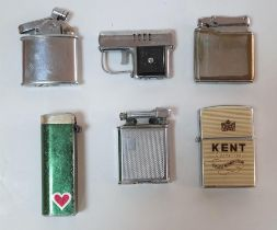 Collection of vintage lighters (6)