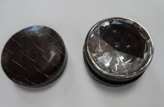 Copy of the worlds largest diamond in its own leather carry case