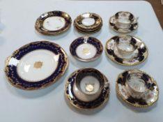 Collection of Coalport & Minton part tea sets (Qty)