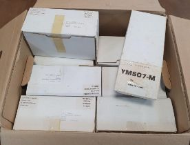 Boxful of unused, boxed Matchbox old vehicles, complete with COAs (Qty)