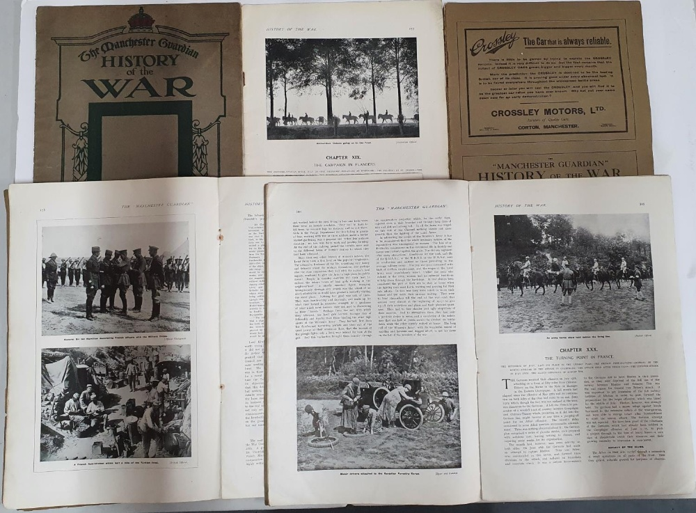 """Five, 1918 volumes of the Manchester Guardian """"History of the War"""" (5) - Image 2 of 2"""