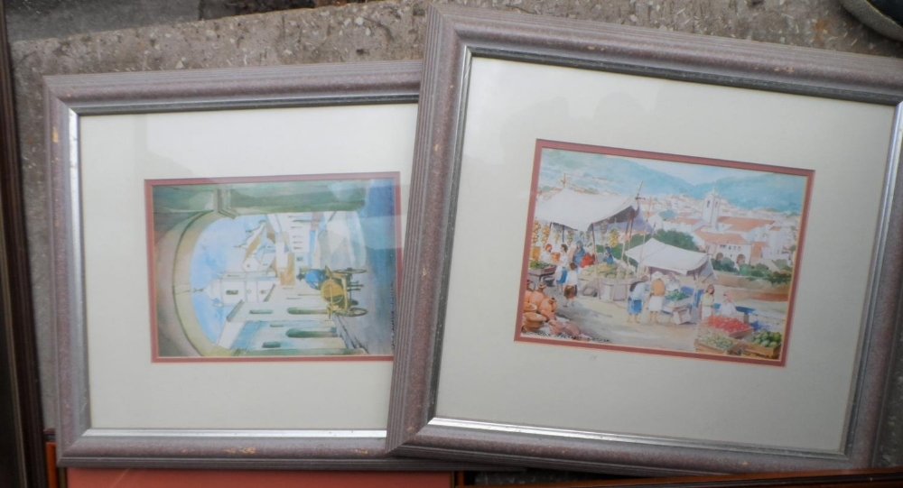 Collection of 3 pencil signed limited edition prints together with 4 other prints, all framed (7) - Image 5 of 5