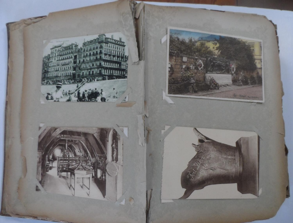 Superb 1920/30s album of mainly Belgium landscapes (Ostend, Bruges, Waterloo, Antwerp etc) & a few - Image 3 of 7