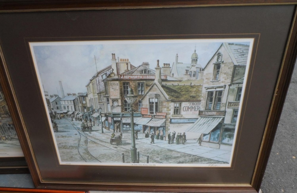 Collection of 3 pencil signed limited edition prints together with 4 other prints, all framed (7) - Image 2 of 5