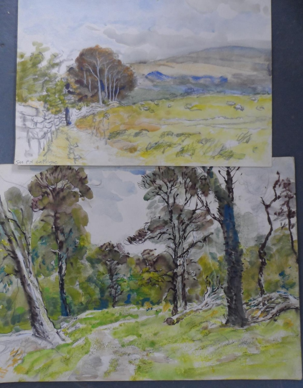 Harry TOOTHILL (1917-2001), collection of 12 good quality unframed watercolours (12) - Image 5 of 6