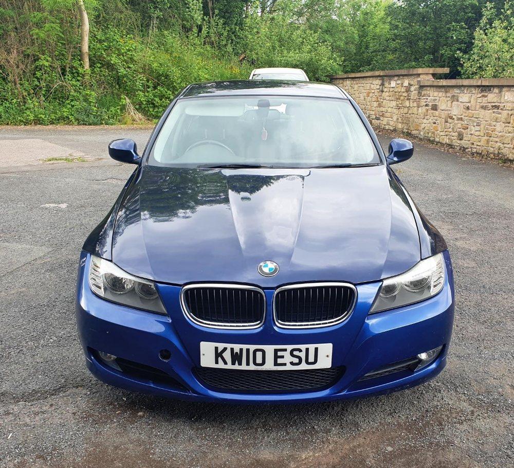 BMW 320d Efficientdynamics, 4 door, 2 litre Diesel in Blue, MOT-Jan 22 134331 miles comes with V5.