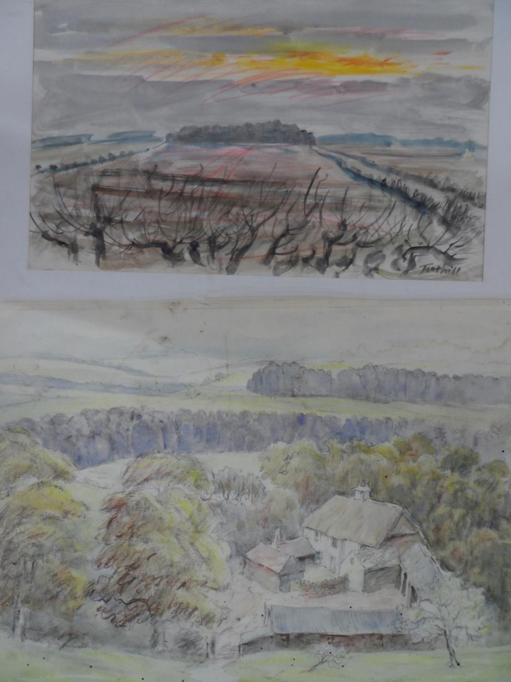 Harry TOOTHILL (1917-2001), collection of 12 good quality unframed watercolours (12) - Image 6 of 6