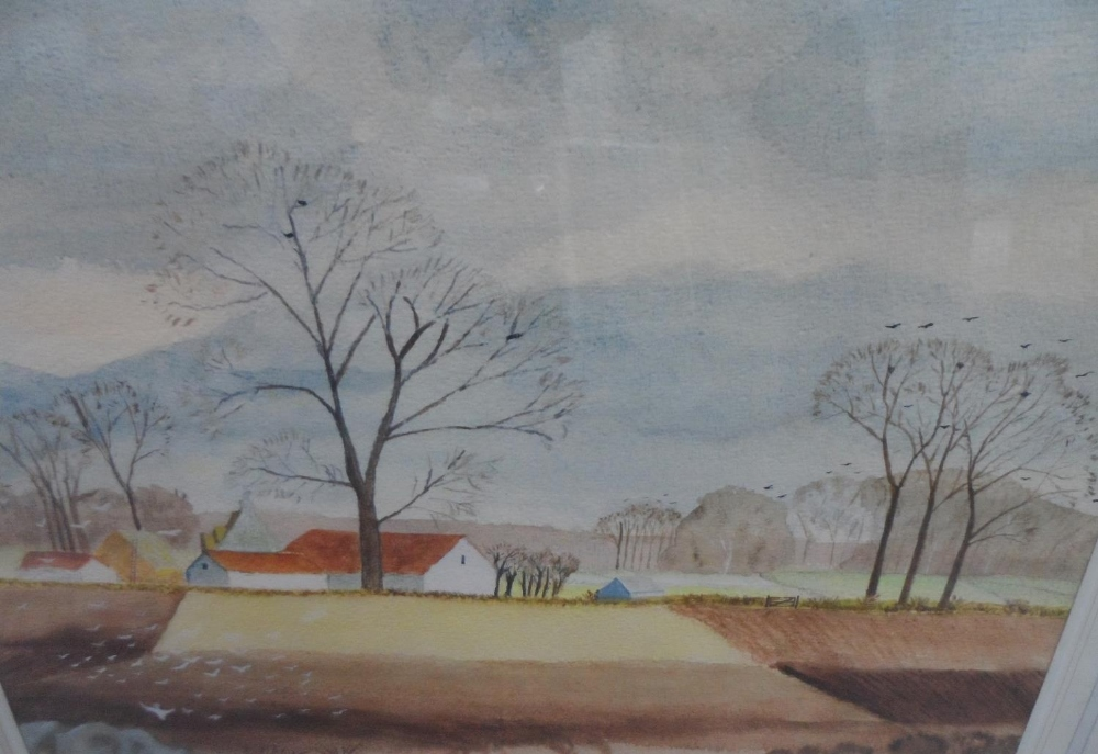 T Butterworth, pair of large Edwardian watercolours in matching original frames, together with - Image 4 of 4
