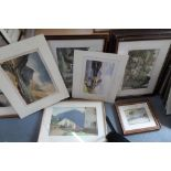 Collection of Heaton Cooper prints, some nicely framed (Qty)