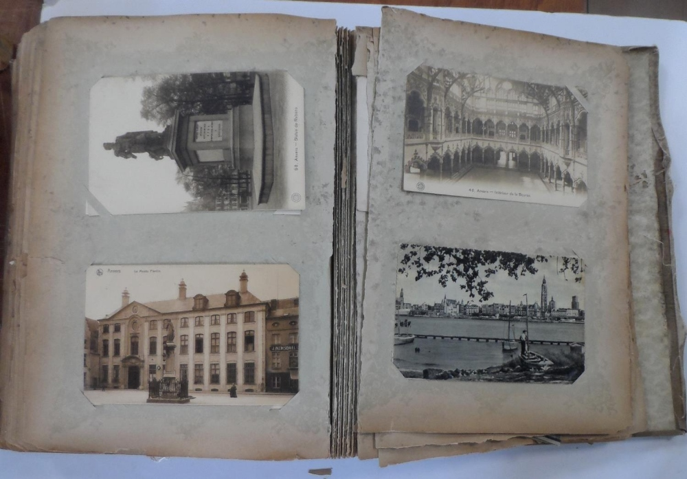 Superb 1920/30s album of mainly Belgium landscapes (Ostend, Bruges, Waterloo, Antwerp etc) & a few - Image 6 of 7