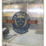 Huge vintage STELLA ARTOIS advertising bar mirror for the North Country Breweries (Hull) 113 x 113cm