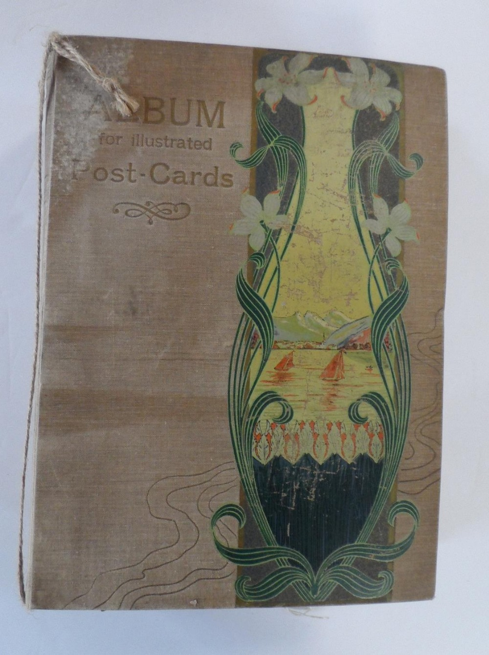 Superb 1920/30s album of mainly Belgium landscapes (Ostend, Bruges, Waterloo, Antwerp etc) & a few