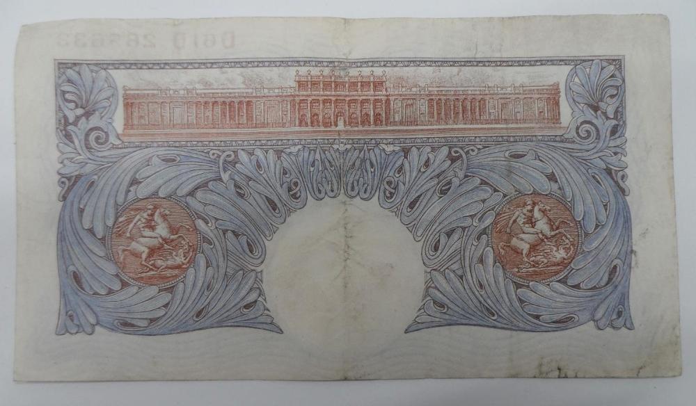 1941 £1 Peppiatt blue - Image 2 of 2