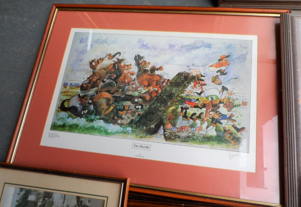 Collection of 3 pencil signed limited edition prints together with 4 other prints, all framed (7) - Image 3 of 5