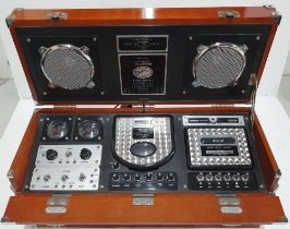 Spirit of Saint Louis, portable superbly cased music player to consist of radio & tape deck etc,