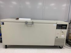 Used Sanyo -86 Degrees C Ultra-Low Temperature Chest Freezer. Model MDF-794C. 702 Liters Capacity