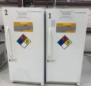 Used- Lot of (2) American Bio Tech Supply Ultra Low Freezers. Model ABT-EFS-20