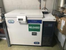 Used-New Brunswick Ultra Low Temp Freezer Model C340. Temp range: -50 to -86 Degrees C